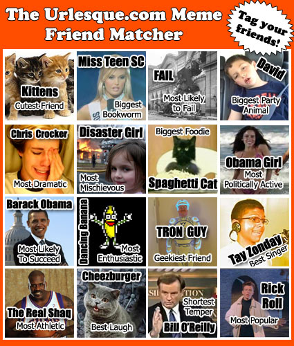 Facebook Friend Tag Urlesque Meme