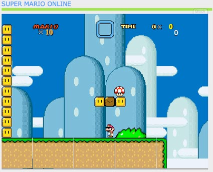 Because now you can play every single f***ing Super Mario game online.