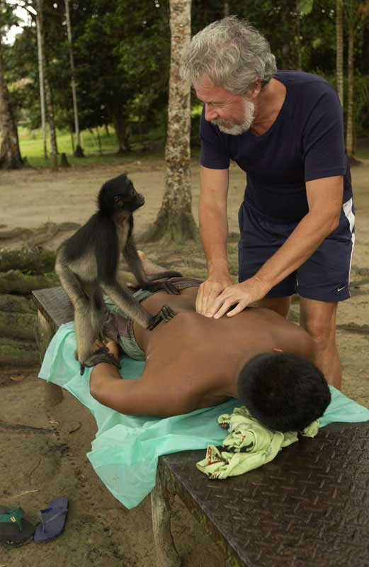 monkey massage