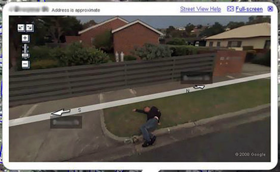 Top 10 Moments Caught on Google Maps Street View