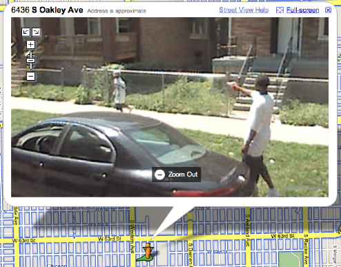 on Google Maps Street View