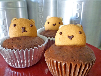 groundhog cupcakes
