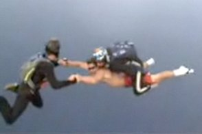 alex torres skydiving video