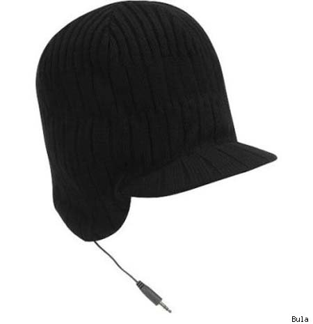 In-Hat Headphones
