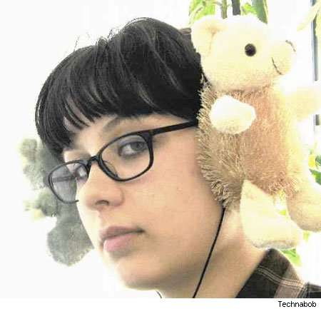 Teddybear Headphones