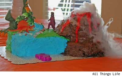 Science fair volcano