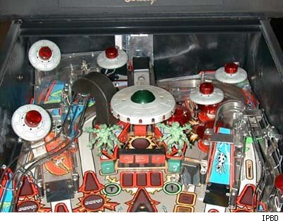 Attack From Mars Pinball