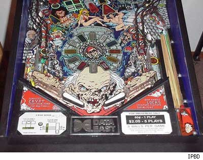 Tales From the Crypt Pinball