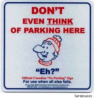 15 Hilarious No Parking Signs - Urlesque