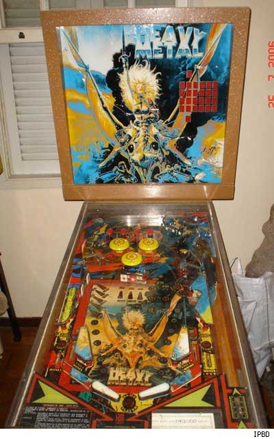Heavy Metal Pinball