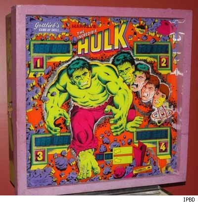 Incredible Hulk Pinball