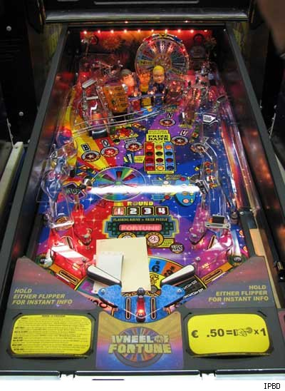 Wheel of Fortune Pinball