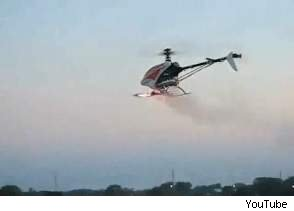 rc helicopter firing rockets