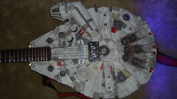 Millenium Falcon Guitar