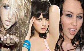 Miley Cyrus, Katy Perry and Kesha