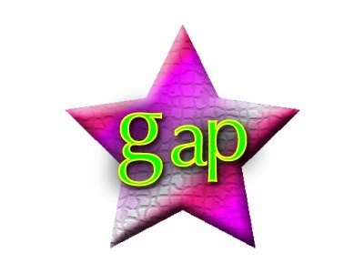 gap star logo by eric carroll