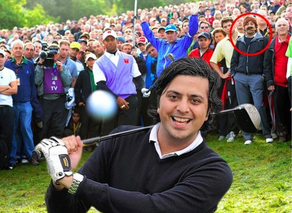 Rupesh Shingadia, cigar man from photobomb pictures