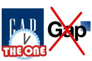 old gap logo and new gap logo