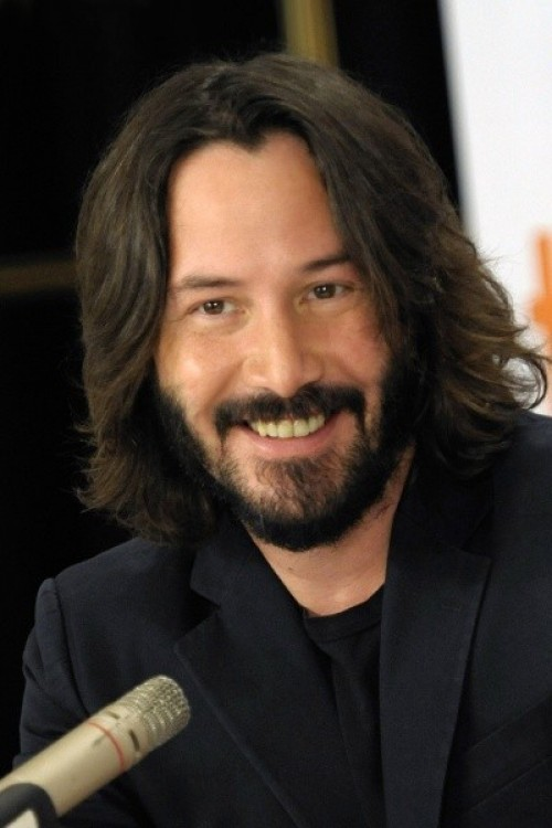 I've been drinking this acai berry smoothie every morning. smile keanu. WENN