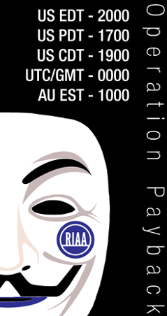 anonymous poster for operation payback