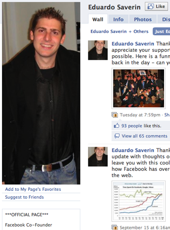 Eduardo Saverin And Mark Zuckerberg Friends Again. Mark Zuckerberg And Eduardo