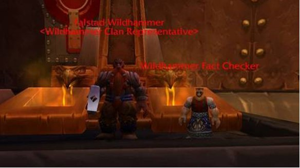 lego world of warcraft characters. world of warcraft fact checker
