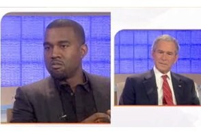 bush vs. kanye