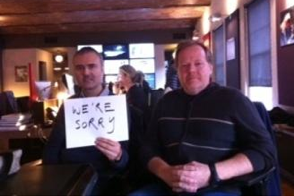 nick denton and gawker CTO tom plunkitt apologize