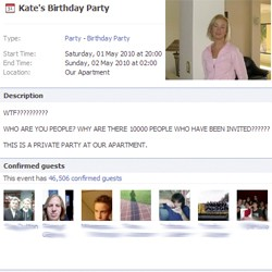 Kate's Birthday Party