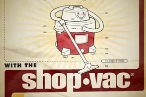 typographic animation for jonathan coulton shop-vac
