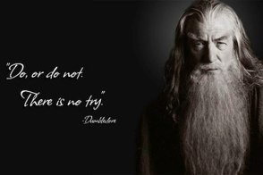trollquotes image with gandalf yoda and dumbledore