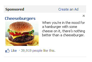 Funny Facebook advertisement parodies. Thumbnail.