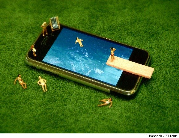iphone swimming