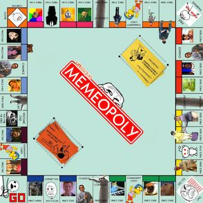 Memeopoly board