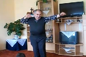 dancing baba turkish grandpa