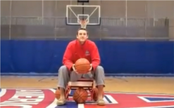 basketball trick shots by american university players