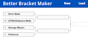 Better Bracket Maker - a March Madness bracket maker