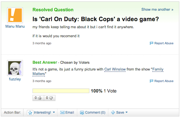 Call of Duty video game question Yahoo Answers