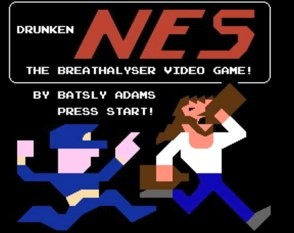 drunkennes nintendo breathalyzer video game