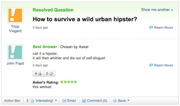 wild urban hipster