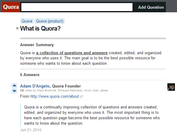 Meta Quora What is Quora