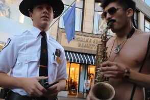 sexy sax man sergio flores in careless whisper prank