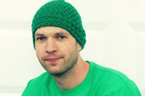 sad guy in a beanie from Etsy