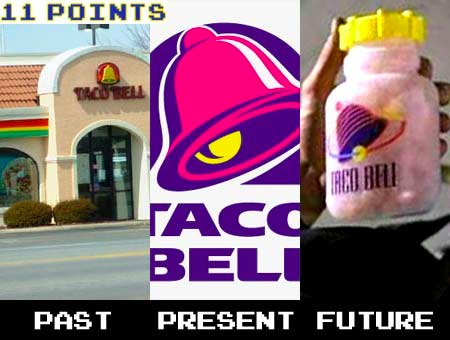taco bell logo is older than justin bieber