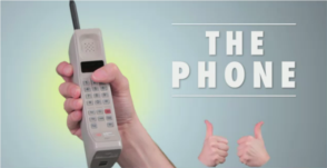 the phone replaces texting