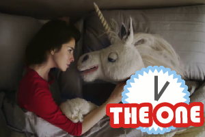 sarah silverman makes out with a unicorn