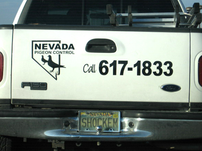 funny license plates. funny nevada license plate