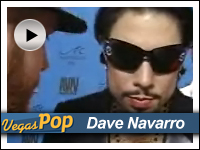 Dave Navarro at AVN Awards in Vegas