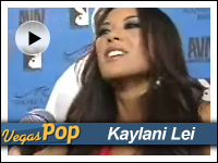 Kaylani Lei at AVN Awards show in Vegas