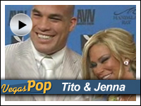Tito Ortiz & Jenna Jameson at AVN Awards